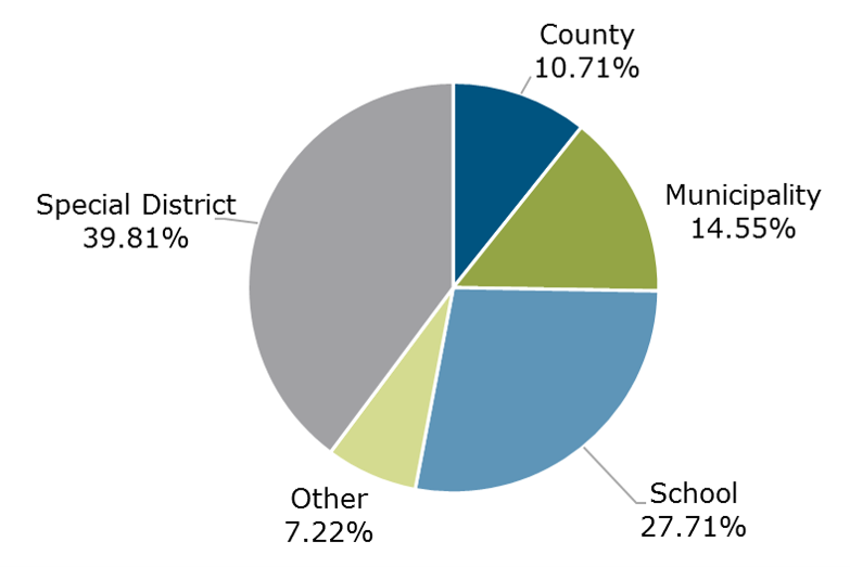 06.21 - Texas CLASS Participant Breakdown by Entity Type